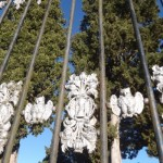 sablier et feuilles d'acanthe