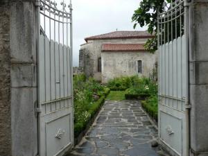 portail jardin de curé