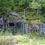 Entrée de la mine de Salau