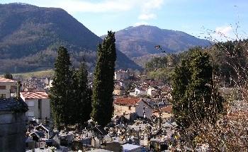 Le cimetière de Seix