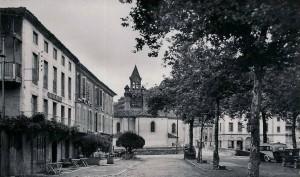 Seix.Le Grand hôtel (Hôtel Dougnac)