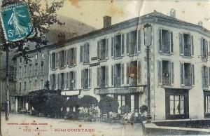 6.Seix.L'hôtel Courtade puis Castaño