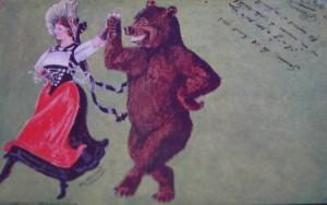 Danse avec l'ours