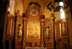 Seix. Eglise St Etienne. Le retable.