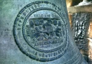 L'une des cloches de l'église St Etienne