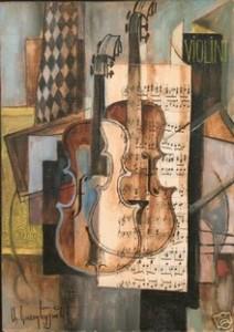Aram Koupétzian.Cubisme synthétique