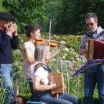 Les musiciens du jardin