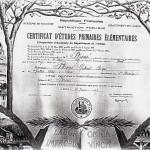 Le certificat d'études primaires
