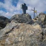 Le sommet du Mt Valier