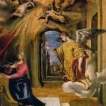 El Greco. Annonciation.