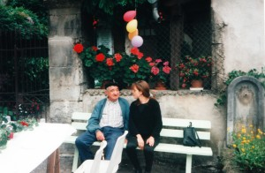Jean COURS et Karine.Seix. Rue du Roy