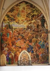 Le martyre de St Laurent
