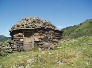 Cabane de berger. Les Goutets