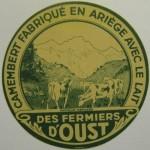 Camembert des fermiers d'Oust