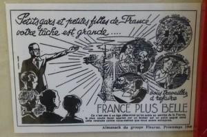 Le discours pétainiste reprit aux éditions Fleurus