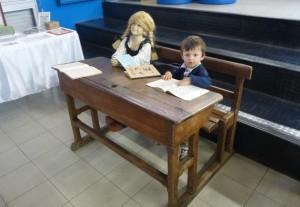 L'un des derniers visiteurs de l'exposition, Vincent Laffitte