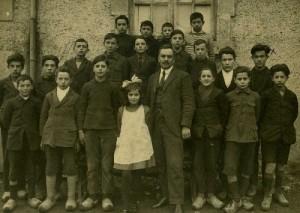 SEIX. Ecole publique. 1921