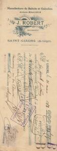 Manufacture de sabots et galoches.1913