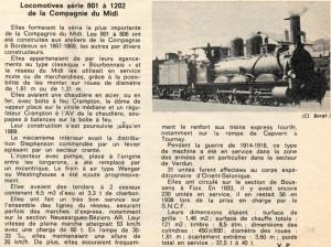 138Vie du rail (extrait) Matériel roulant