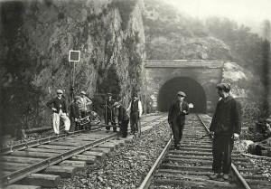 Ariège. Ouvriers cheminots