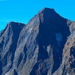 Le Mont-Valier, sommet et glacier