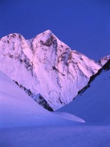 Le Mont Valier en hiver