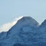 Le Mont Valier vu depuis Soulan