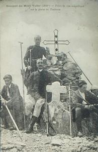 u sommet du Valier ds les années 1900