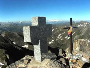 Le sommet du Mont Valier
