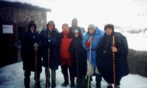 28aAu refuge des Estagnous, chemins de la liberte 2001