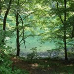 Bethmale. Le lac