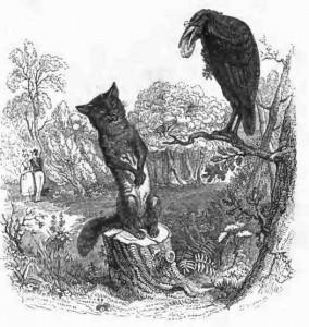 Gravure de Grandville. XIXe siècle