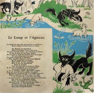 Lou Loup e l'Agnet. Protège cahier