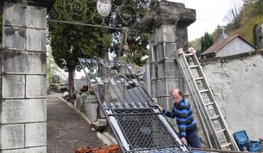 portail du cimetière