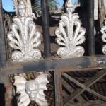 Les palmettes du portail