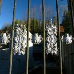 frise alternée du portail