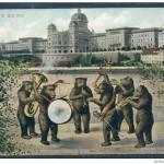 Carte. Orchestre d'ours
