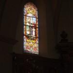 Eglise St Etienne.Les vitraux