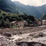 Salau La crue de1982