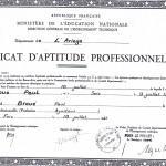 Le diplôme du CAP
