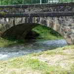 Seix. Les arches du pont du Campot