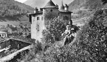 Seix. Le château. années 50