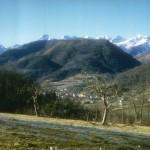Le Cos et la chaîne des Pyrénées