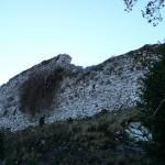 Seix. Le Mirabat. Pan de mur de l'ancien château