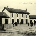 Saint-Girons. La nouvelle gare