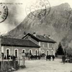 Tarascon sur Ariège. La gare