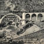 Construction du viaduc de La Tour de Carol