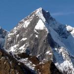 Le Mont Valier, le sommet. La terrible face Est.Le trou noir