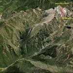 Accès au Mont Valier par la vallée du Riberot