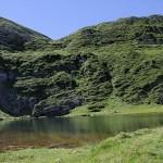 L'étang d'Eychelle1894m.